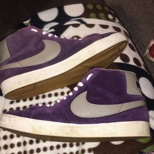 Nike Shoes - 💋Nike SB Blazer Quasar Purple Iron 110d02818f55